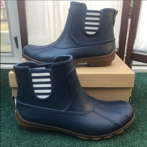 Sperry Syren Cove Navy Rain Boots